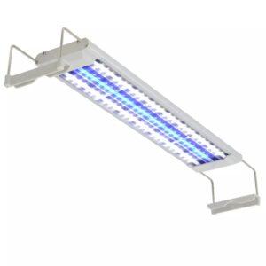 Iluminação aquário LED 50-60 cm alumínio IP67 - PORTES GRÁTIS