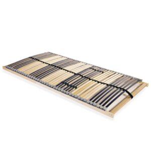 Estrado de ripas com 42 ripas 7 zonas 100x200 cm FSC - PORTES GRÁTIS