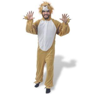 Fantasia de carnaval leão, M-L - PORTES GRÁTIS