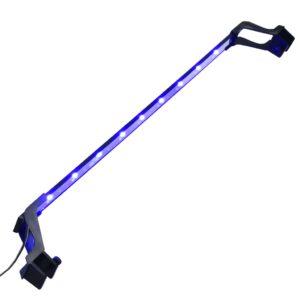 Lâmpada de aquário LED com braçadeiras 75-90 cm azul e branco - PORTES GRÁTIS