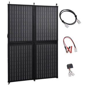 Painel solar dobrável 100 W 12 V - PORTES GRÁTIS