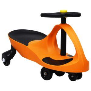 Triciclo sem pedais com buzina laranja - PORTES GRÁTIS