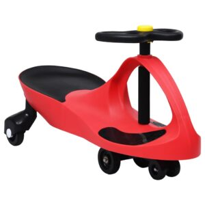Triciclo sem pedais com buzina vermelho - PORTES GRÁTIS