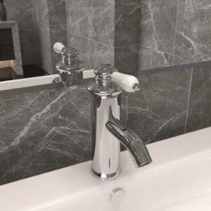 Torneira para lavatório de casa de banho 130x180 mm cromado - PORTES GRÁTIS