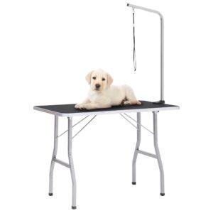 Mesa de grooming ajustável para cães com 1 laço - PORTES GRÁTIS