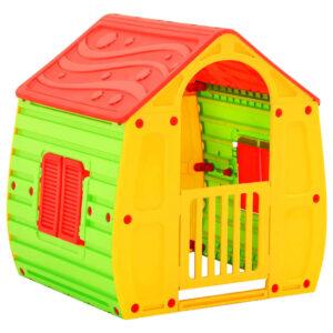 Casa de brincar infantil 102x90x109 cm - PORTES GRÁTIS