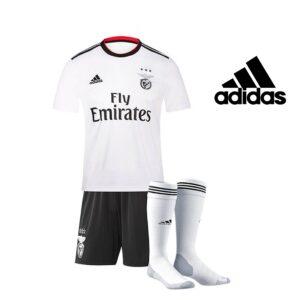 Adidas® Conjunto de Futebol Oficial Benfica - 3 Peças - Tamanho 3/4 Anos