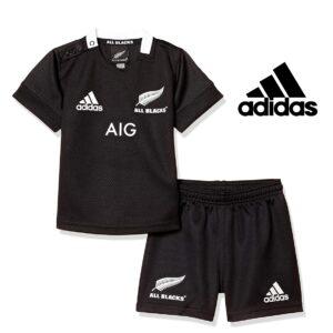 Adidas® Conjunto Criança Oficial All Blakcs | Tamanho 12 Meses