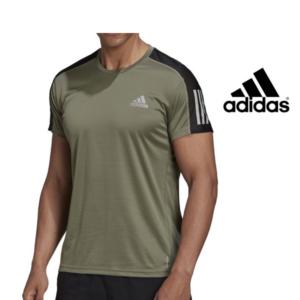 Adidas® T-Shirt Own the Run Verde Tropa | Tamanho S