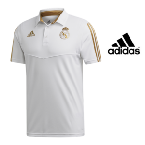 Adidas® Polo Oficial Real Madrid Gold | Tamanho XS