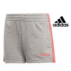 Adidas® Calções Júnior 3 Stripes Cinza