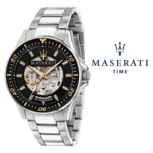 Relógio Maserati® Sfida Automático Black | R8823140002  STF