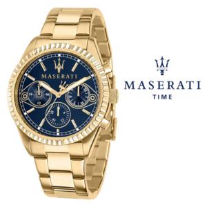 Relógio Maserati® Competizione Gold Blue | R8853100026 STF