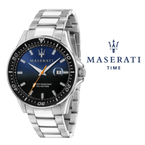 Relógio Maserati® Sfida Silver Blue | R8853140001 STF