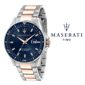 Relógio Maserati® Sfida Silver Rose Blue | R8853140003 STF