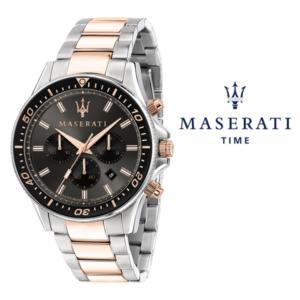 Relógio Maserati® Sfida Rose Gold Black | R8873640002 STF