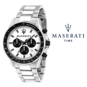 Relógio Maserati® Sfida White Black | R8873640003 STF