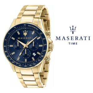 Relógio Maserati® Sfida Gold Blue | R8873640008 STF