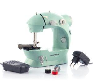 Mini-máquina de Costura Portátil com LED, Corta-linhas e Acessórios - VEJA O VIDEO