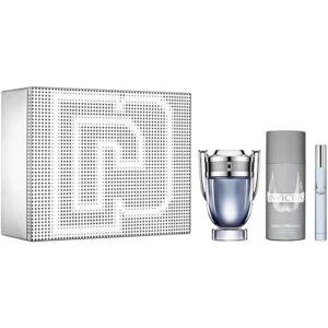 Conjunto de Perfume Homem Invictus Paco Rabanne (3 pcs)