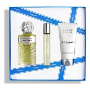 Conjunto de Perfume Mulher Eau de Rochas EDT (3 pcs)