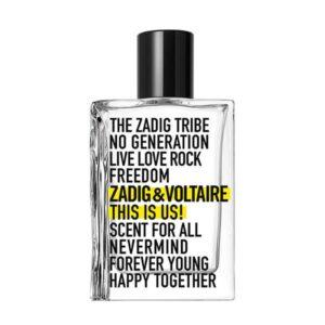 Perfume Unissexo This is Us Zadig & Voltaire EDT (100 ml)
