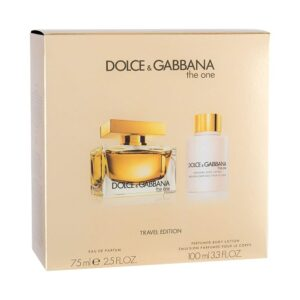 Conjunto de Perfume Mulher The One Travel Edition Dolce & Gabbana (2 pcs)