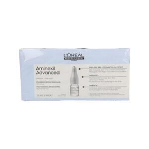 Ampolas Antiqueda Expert Aminexil Advanced L'Oreal Professionnel Paris (10 uds)