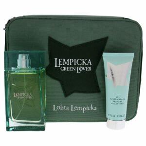 Conjunto de Perfume Homem Lempicka Green Lover Lolita Lempicka (3 pcs)