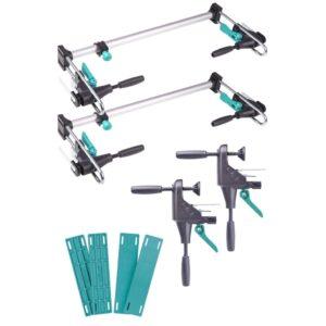 Wolfcraft Conjunto ferramentas PRO para montagem moldura porta 3676000 - PORTES GRÁTIS