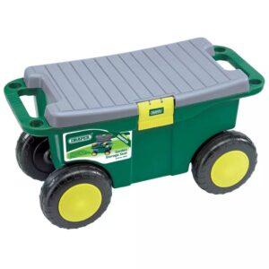 Draper Tools Carro/assento ferram. jardim 56x27,2x30,4cm verde 60852 - PORTES GRÁTIS
