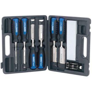 Draper Tools Conjunto de cinzeis para madeira 8 pcs 88605 - PORTES GRÁTIS