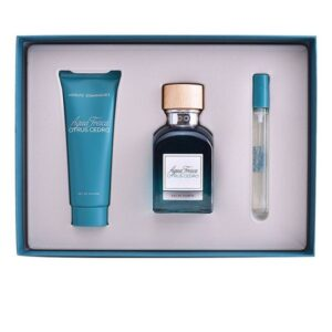 Conjunto de Perfume Homem Agua Fresca Citrus Cedro Adolfo Dominguez EDT (3 pcs)
