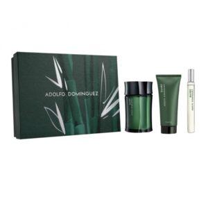 Conjunto de Perfume Homem Bambu Adolfo Dominguez (3 pcs)