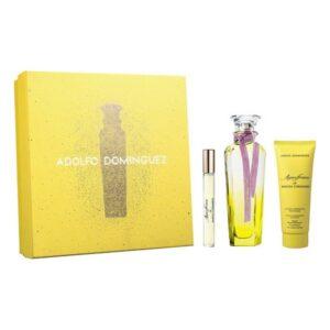 Conjunto de Perfume Mulher Agua Fresca de Mimosa Coriandro Adolfo Dominguez EDT (3 pcs)