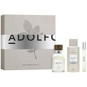 Conjunto de Perfume Homem Agua Fresca Adolfo Dominguez (3 pcs)