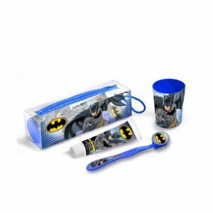 Estojo Pasta de dentes Cartoon Batman (4 pcs)