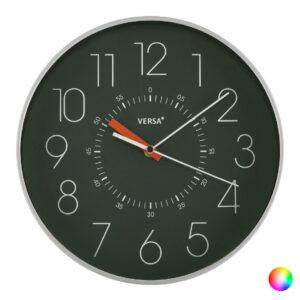 Relógio de Parede Cucina Plástico (4,3 x 30,5 x 30,5 cm) Verde