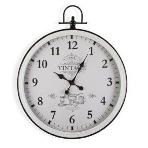 Relógio de Parede Adele Vintage Metal