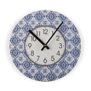 Relógio de Parede Aveiro Madeira (4 x 29 x 29 cm)