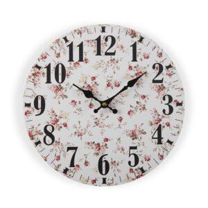 Relógio de Parede Maggie Madeira (4 x 29 x 29 cm)