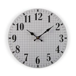 Relógio de Parede Medeiros Madeira (4 x 29 x 29 cm)