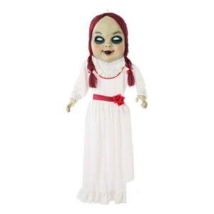 Decoração Suspensa Halloween Boneca zombie Branco (153 Cm)