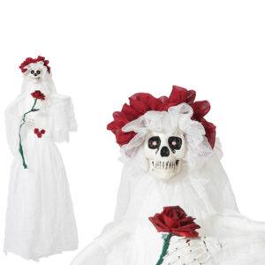 Esqueleto Suspenso Halloween Noiva cadáver (10 X 70 x 120 cm)