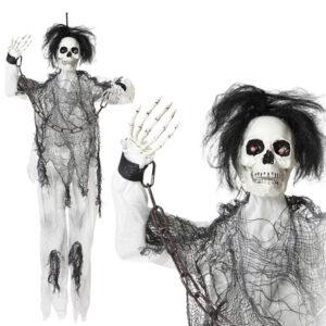 Esqueleto Suspenso Halloween (20 x 10 x 120 cm)