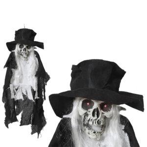Esqueleto Suspenso Halloween (81 x 28 x 23 cm)