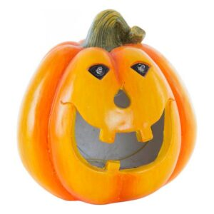 Decoração para Halloween Dekodonia Fibra de Vidro Abóbora (21 x 21 x 21 cm)