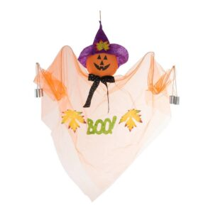 Decoração para Halloween DKD Home Decor Fantasma Organza Espuma (80 x 10 x 110 cm)