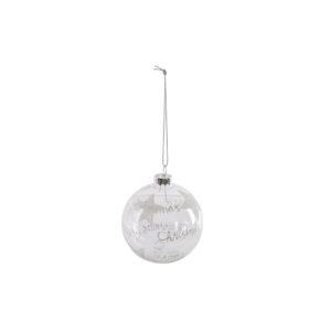 Bola decorativa DKD Home Decor Cristal Estrela (8 x 8 x 8 cm)