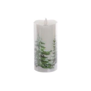 Adorno Natalício DKD Home Decor Branco Verde LED